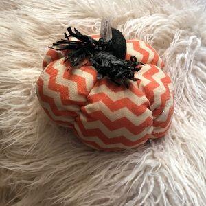 Soft pumpkin decor